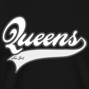 queens new york T-Shirts - Men's Premium T-Shirt