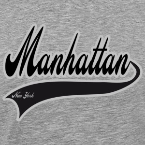 manhattan new york T-Shirts - Men's Premium T-Shirt
