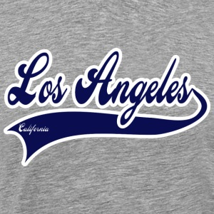 los angeles california T-Shirts - Men's Premium T-Shirt