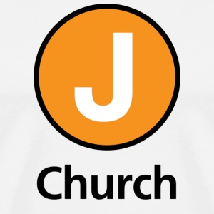 Muni J Church T-shirt - Men's Premium T-Shirt