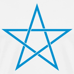pentagram star T-Shirts - Men's Premium T-Shirt