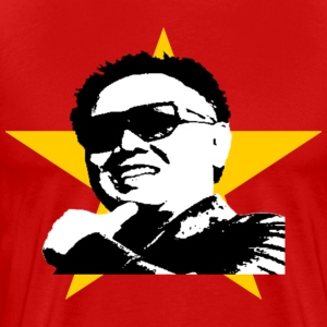 Glorious Kim Jung Il shirt, Men ($5.00 off!)* - Men's Premium T-Shirt