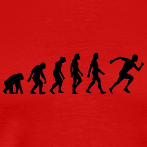 Evolution Running (1c) T-Shirts - Men's Premium T-Shirt