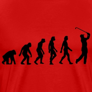Evolution Golf (1c) T-Shirts - Men's Premium T-Shirt