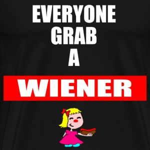Grab a Wiener - Men's Premium T-Shirt