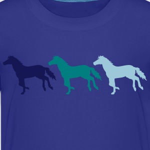 Three Horses - Kids' Premium T-Shirt