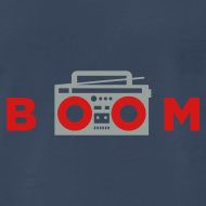 Design ~ bOOmbox - Choose your own dark shirt color
