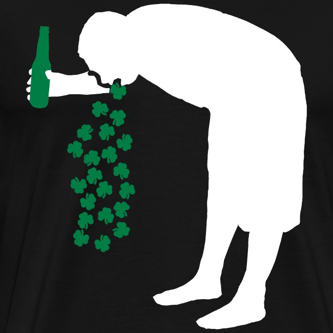 St. Patrick's Day Drunk