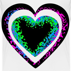 colorful_heart2 Toddler Shirts - Toddler Premium T-Shirt