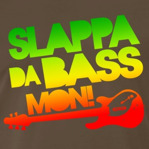 Slappa Da Bass Mon! - Men's Premium T-Shirt