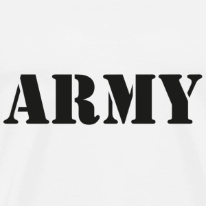 Army T-Shirts - Men's Premium T-Shirt