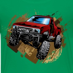 Muddy Red Truck Kids' Shirts