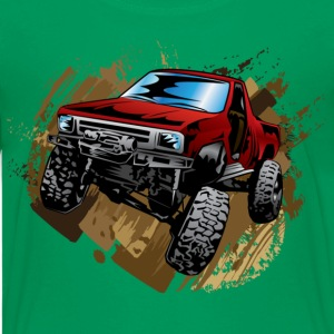 Muddy Red Truck Kids' Shirts - Kids' Premium T-Shirt