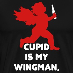 Cupid Is My Wingman T-Shirts