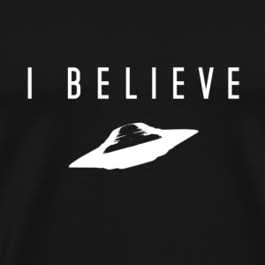 UFO I Believe - Men's Premium T-Shirt