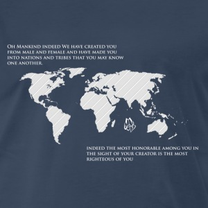 One World T-Shirt - Men's Premium T-Shirt
