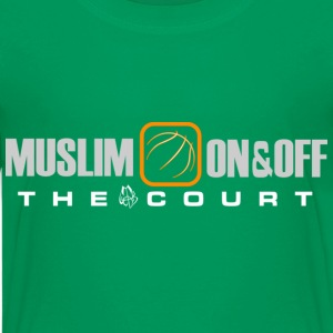 Muslim On&Off the court Children - Kids' Premium T-Shirt
