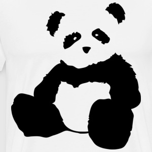 panda plush - Men's Premium T-Shirt