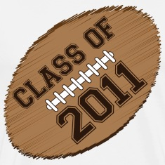 class of 2011 football T-Shirts
