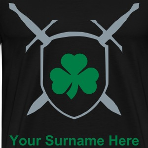 irishcoatofarms T-Shirts - Men's Premium T-Shirt