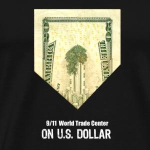 WTC on US Bill - Men's Premium T-Shirt