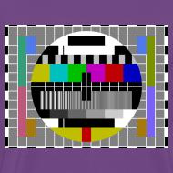 Design ~ Sheldon TV Test Pattern T-Shirt