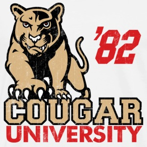 Cougar Hunter University T-Shirts - Men's Premium T-Shirt