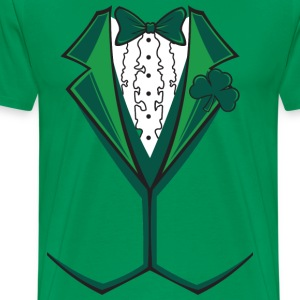 Irish Formal Tuxedo T-Shirts - Men's Premium T-Shirt