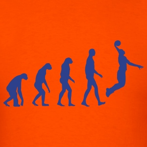 Evolution Basketball T-Shirts - Men's T-Shirt