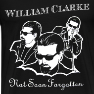 Design ~ William Clarke Not Forgotten 3X t-shirt