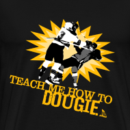 Design ~ Dougie Men's Black T-Shirt
