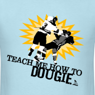 Design ~ Dougie Men's Sky Blue T-Shirt