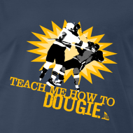 Design ~ Dougie Men's Navy T-Shirt