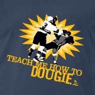 Design ~ Dougie Men's Navy T-Shirt