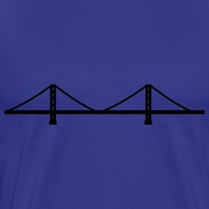 San Francisco - Golden Gate Bridge  T-Shirts - Men's Premium T-Shirt