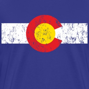 Vintage Colorado Shirt - Men's Premium T-Shirt