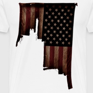 Torn America - Men's Premium T-Shirt