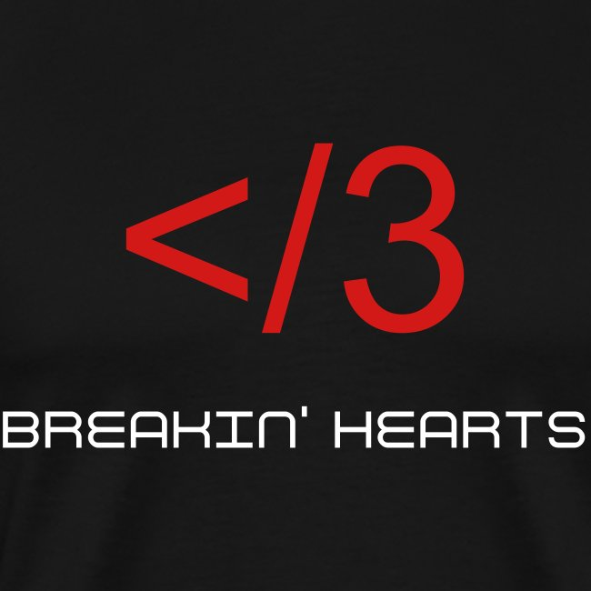 Breakin' Hearts Tee with Custom Back