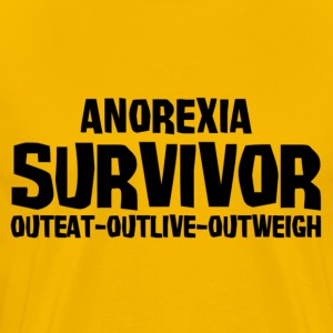 Anorexia Survivor T-Shirts - Men's Premium T-Shirt