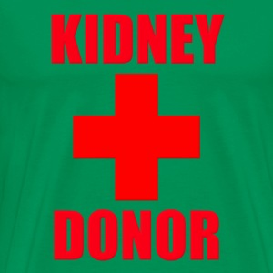 Kidney Donor T-Shirts - Men's Premium T-Shirt