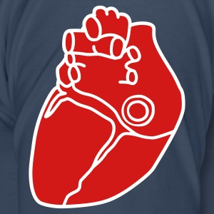 Small anatomical heart T-Shirts - Men's Premium T-Shirt