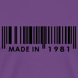 Birthday 1981   T-Shirts - Men's Premium T-Shirt