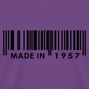 Birthday 1957   T-Shirts - Men's Premium T-Shirt