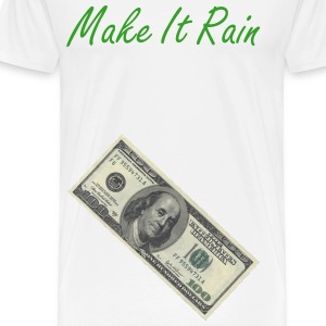 make it rain benjamine money - Men's Premium T-Shirt