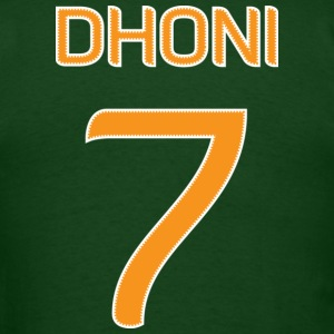 Dhoni #7 shirt / jersey (in honor of 2011 World Cup Champion Indian Cricket Team Captain ) - Men's T-Shirt