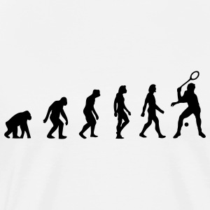 Squash Evolution (1c) T-Shirts - Men's Premium T-Shirt