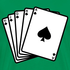 Poker Royal Flash T-Shirts