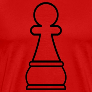 Chess Pawn T-Shirts - Men's Premium T-Shirt