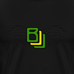 BJJ Tribal with Brazilian Colors - Men's Premium T-Shirt
