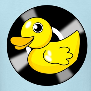 RUB A DUB DUB Vinyl Duck - Men's T-Shirt